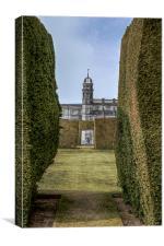 Stonyhurst College, Lancashire, Canvas Print
