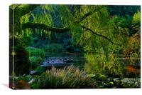 Enchanted Garden, Canvas Print