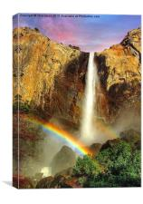 Rainbow Falls, Canvas Print