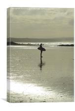 Wheres the surf?, Canvas Print