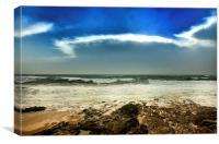 Storm on the horizon, Canvas Print