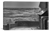 Malstrom seas, Canvas Print