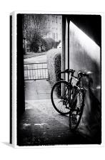 Cycling, Canvas Print