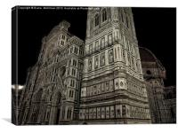 Duomo, florence italy, Canvas Print