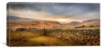 Gateway to the Cumbrian Fells, Canvas Print