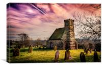Upleatham Church, Canvas Print