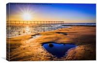 The Heart of Saltburn, Canvas Print