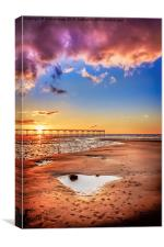 Saltburn Love Portrait, Canvas Print