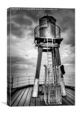 Whitby Lookout, Canvas Print