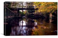 Autumnal Tranquility, Canvas Print