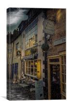 Wonderful Wet Whitby, Canvas Print
