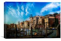 Grand Canal, Canvas Print
