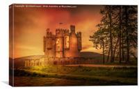 Braemar Castle, Canvas Print