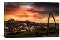 Whitby Vista, Canvas Print