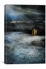 Winters Cloak, Canvas Print