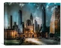 Old New York, Canvas Print