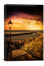 Whitby Wanderer, Canvas Print