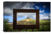 Its a Frame Up!, Canvas Print