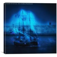 Ghosts of Whitby, Canvas Print