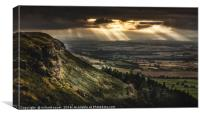 Birkbrow Beams, Canvas Print