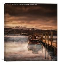 Lakeland Mist, Canvas Print