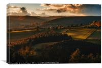 Vale of Autumn, Canvas Print