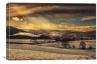 Winterscape, Canvas Print