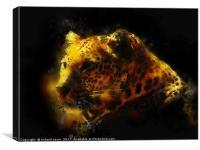 Jaguar , Canvas Print