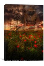 Tending the Fallen, Canvas Print