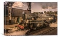 Whitby Express, Canvas Print