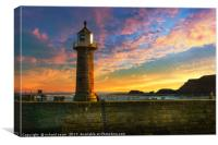 Saltwick Sunrise, Canvas Print