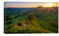 Chrome Hill from Parkhouse Hill, Canvas Print