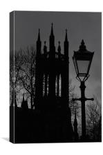 Newcastle Cathederal, Canvas Print