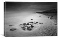 Mappleton beach, Canvas Print