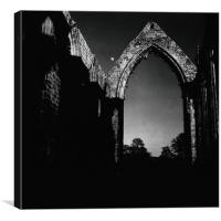 Bolton Abbey, Yorkshire., Canvas Print