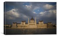 Budapest Parliment, Canvas Print