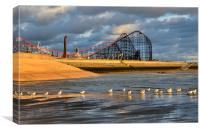 The Big One Blackpool, Canvas Print