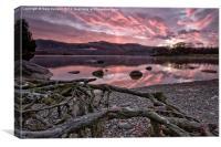 Derwentwater Sunrise Lake District, Canvas Print