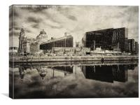 Old Liverpool , Canvas Print