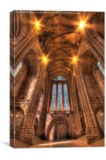 Liverpool Cathedral Interior, Canvas Print