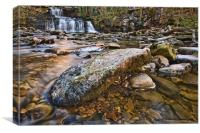 Cotter Force Waterfall , Canvas Print