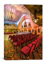 Spanish Hall, Canvas Print