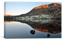 Morning Rydalwater Reflections, Canvas Print