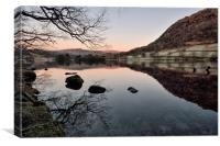 Sunsrise At Rydalwater, Canvas Print