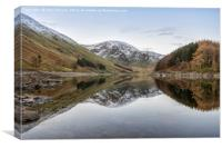 Reflections at Haweswater, Canvas Print