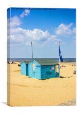 Margate beach, Canvas Print