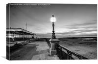 Margate in Mono, Canvas Print