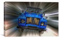 Land Rover, Canvas Print