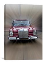 Mercedes-Benz, Canvas Print