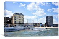 Margate landscape, Canvas Print